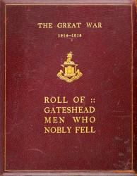 Roll Of Gateshead Men Who Nobly Fell Spread 0 cover